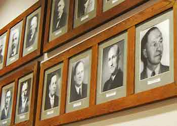 image of Mayoral photos on wall