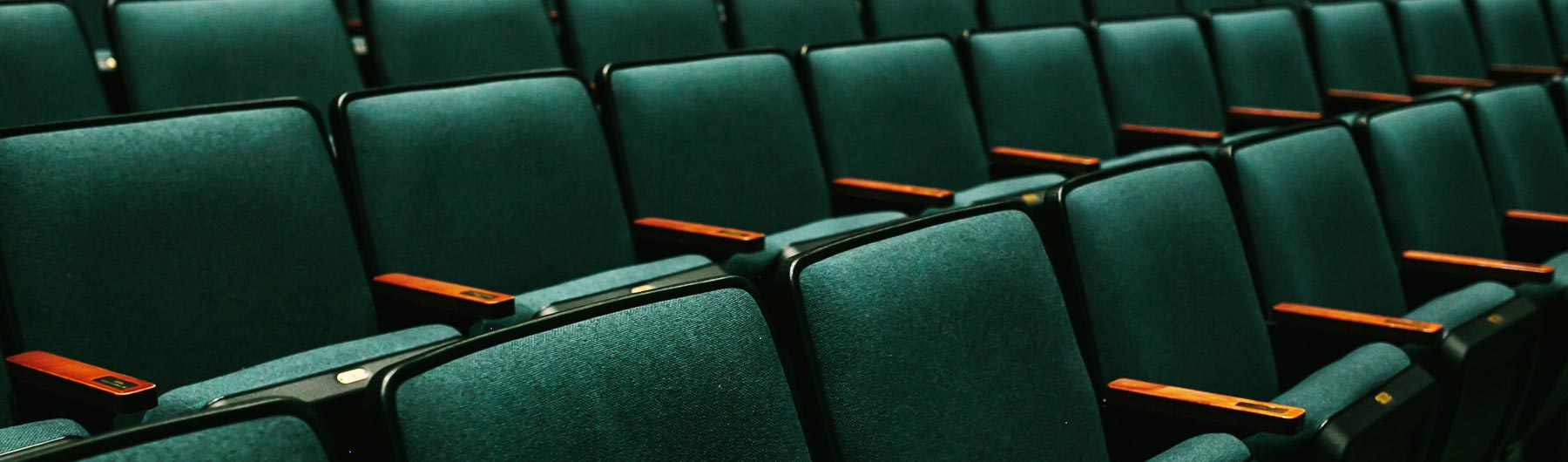 row of seats at the theatre