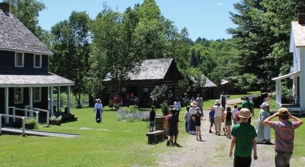 outdoor image of event at Muskoka Heritage Place