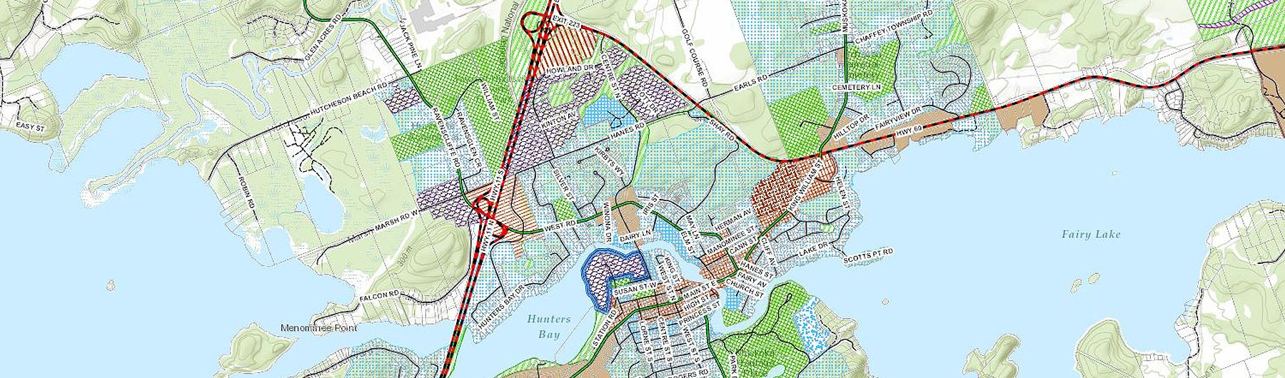image of a huntsville zoning map